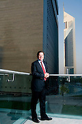 Ewan Cameron, Managing Partner, Linklaters (Dubai Office), Dubai, United Arab Emirates on August 31, 2006..By Siddharth Siva