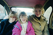 Tzara, Zoe and Kayleigh in Golly Gosh, UK, 1980s.
