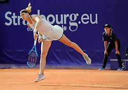 May 23, 2018 - France - Internationaux de tennis de Strasbourg - Lucie Safarova republique Tcheque (Credit Image: © Panoramic via ZUMA Press)