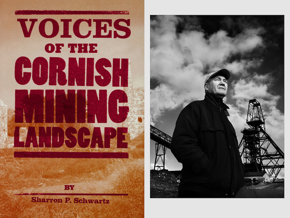 Allen Buckley, ex-tin miner. <br /> <br /> From a series of portraits commissioned for the book 'Voices of the Cornish Mining Landscape.'
