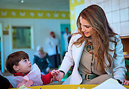 Queen Rania Visits The Hashemite University