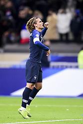 November 14, 2019, Paris, France, France: joie de Antoine Griezmann (Fra) en fin de match (Credit Image: © Panoramic via ZUMA Press)