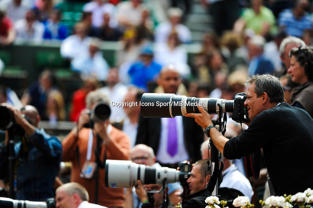 Illustration photograhes - 02.06.2015 - Jour 10 - Roland Garros 2015<br /> Photo : Nolwenn Le Gouic / Icon Sport