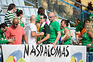 GRAN CANARIA, Maspalomas, Spanje, voetbal, seizoen 2014-2015, 10-1-2015, winterstop in Nederland, Maspalomas Cup, PSV - Celtic 1-0, Estadio Municipal, er zitten veel Celtic fans op de tribune.
