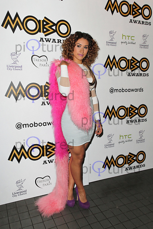 LONDON - SEPTEMBER 17: Cleo Sol attended the Nominations Launch of the MOBO Awards at Floridita London, UK. September 17, 2012. (Photo by Richard Goldschmidt)