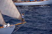 Belle Venture, Nordwind at the Antigua Classic Yacht Regatta