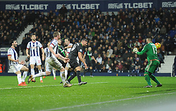 Jonathan Walters of Stoke City scores to make it 1-1 - Mandatory byline: Alex James/JMP - 07966 386802 - 02/01/2016 - FOOTBALL - The Hawthorns - Birmingham, England - West Bromwich Albion v Stoke City - Barclays Premier League