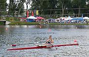 2006, FISA Juniors, Bosbaan, Amsterdam, THE NETHERLANDS, Saturday, [Finals Day]. 2006, FISA Juniors, Bosbaan, Amsterdam, THE NETHERLANDS, Saturday, [Finals Day].  05.08.2006. USA JW1X, Linsay MEYER, Bronze medallist, Peter Spurrier/Intersport Images, email images@intersport-images.com[Mandatory Credit Peter Spurrier/ Intersport Images] Rowing Course: Bosbaan Rowing Course, Amsterdam, NETHERLANDS
