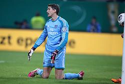 Football: Germany, DFB Cup<br /> Goalkeeper Rene Adler (Hamburger SV, HSV)