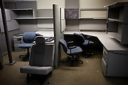 The special investigations floor of the Sacramento Police Department is emptied due to budget cuts, and its detectives reassigned to patrol units, October 26, 2012 in Sacramento, Calif.