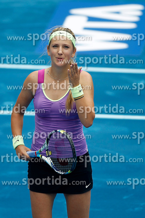 11.05.2012, Caja Magica, Madrid, ESP, WTA World Tour, Madrid Open, im Bild 11.05.2012, Caja Magica, Madrid, ESP, WTA World Tour, Madrid Open, im Bild Victoria Azarenka // during the WTA World Tour, Madrid Open at the Caja Magica, Madrid, Spain on 2012/05/11. EXPA Pictures © 2012, PhotoCredit: EXPA/ Alterphotos/ Acero..***** ATTENTION - OUT OF ESP and SUI *****