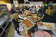 Nederland, Zwollen, 21-1-2015In de IJsselhallen wordt de Biobeurs gehouden. een beurs op het gebied van biologisch en duurzaam voedsel en voedselproductie.FOTO: FLIP FRANSSEN/ HOLLANDSE HOOGTE