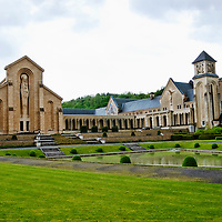 Orval Abbey, Belgium Travel Stock Photos
