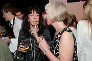 GAIL REBUCK; MICHELLE MCDOWELL, The Veuve Clicquot Businesswoman of the Year  Award. Claridge's, London.  March 28 2011. ,-DO NOT ARCHIVE-© Copyright Photograph by Dafydd Jones. 248 Clapham Rd. London SW9 0PZ. Tel 0207 820 0771. www.dafjones.com.