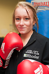 Steel City Boxing Gym in Sheffield sponsored by Rhodar<br /> 7th December 2010