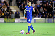 AFC Wimbledon defender Barry Fuller (2) pointing during the EFL Sky Bet League 1 match between AFC Wimbledon and Milton Keynes Dons at the Cherry Red Records Stadium, Kingston, England on 22 September 2017. Photo by Matthew Redman.