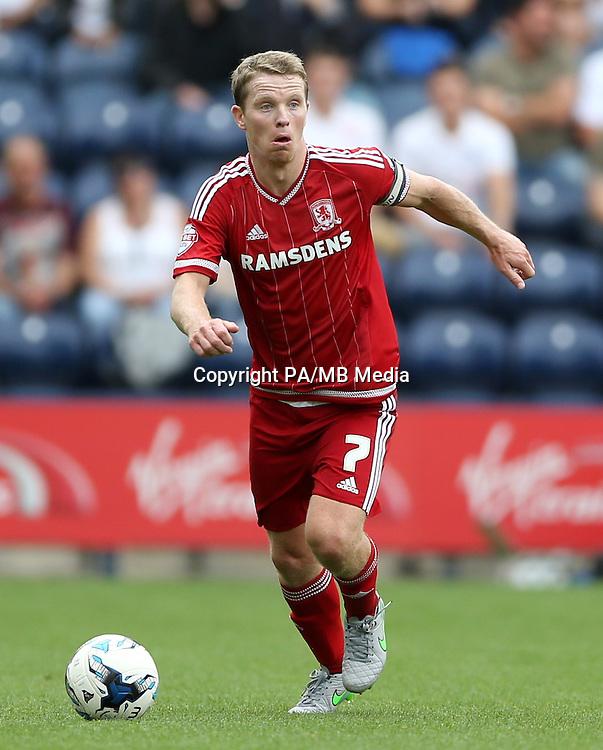 Middlesbrough's Grant Leadbitter