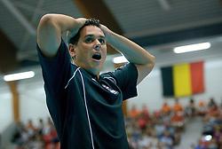 08-08-2014 NED: FIVB Grand Prix Nederland - Puerto Rico, Doetinchem<br /> Head coach Jose Mieles