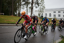 Amalie Dideriksen (DEN) on the final lap at Ladies Tour of Norway 2018 Stage 2, a 127.7 km road race from Fredrikstad to Sarpsborg, Norway on August 18, 2018. Photo by Sean Robinson/velofocus.com