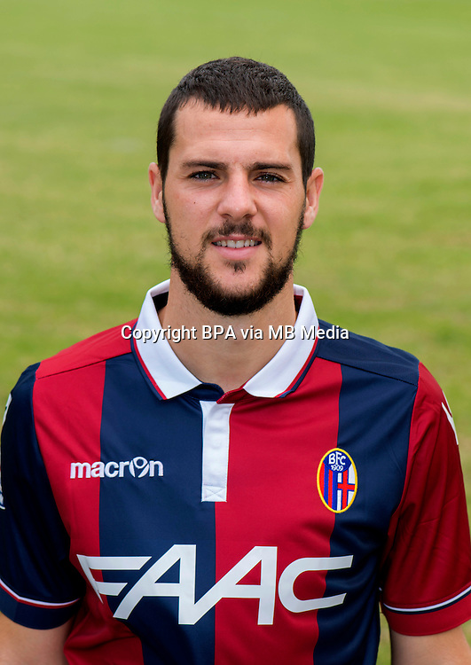 Italian League Serie A -2015-2016 / <br /> ( Bologna Fc 1909 ) -<br /> Mattia Destro