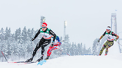 21.02.2016, Salpausselkae Stadion, Lahti, FIN, FIS Weltcup Langlauf, Lahti, Herren Skiathlon, im Bild Jonas Baumann (SUI) // Jonas Baumann of Switzerland competes during Mens Skiathlon FIS Cross Country World Cup, Lahti Ski Games at the Salpausselkae Stadium in Lahti, Finland on 2016/02/21. EXPA Pictures © 2016, PhotoCredit: EXPA/ JFK