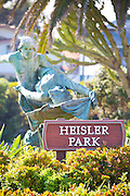 Heisler Park Sculpture Garden in Laguna Beach California