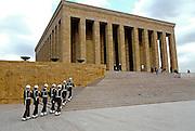 TURKEY, ANKARA Mustafa Kemal Ataturk's Tomb