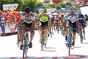 Peter Sagan (SVK - Bora - Hansgrohe), Alejandro Valverde (ESP - Movistar)during the UCI World Tour, Tour of Spain (Vuelta) 2018, Stage 7, Puerto Lumbreras - Pozo Alcon 185,7 km in Spain, on August 31th, 2018 - Photo Luca Bettini / BettiniPhoto / ProSportsImages / DPPI