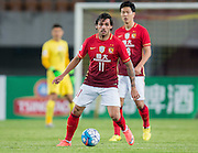 GUANGZHOU, CHINA - FEBRUARY 24:  Ricardo Goulart of Guangzhou Evergrande in action during the Guangzhou Evergrande FC v Pohang Steelers match as part of the AFC Champions League 2016 at Guangzhou Tianhe Sport Center on February 24, 2016 in Guangzhou, China.  (Photo by Aitor Alcalde Colomer/Getty Images)