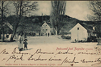 Podsused kod Zagreba (Croatie). <br />  <br /> ImpresumZagreb : Naklada tiskare A. Brusina, [prije 1905].<br /> Materijalni opis1 razglednica : tisak ; 8,9 x 14 cm.<br /> NakladnikTiskara A. Brusina<br /> Mjesto izdavanjaZagreb<br /> Vrstavizualna građa • razglednice<br /> ZbirkaZbirka razglednica • Grafička zbirka NSK<br /> Formatimage/jpeg<br /> PredmetZagreb –– Podsused<br /> SignaturaRZG-PODSU-19<br /> Obuhvat(vremenski)20. stoljeće<br /> NapomenaRazglednica je putovala. • Poleđina razglednice namijenjena je samo za adresu. • Razglednica je tiskana po fotografiji G. Cvijić.<br /> PravaJavno dobro<br /> Identifikatori000955041<br /> NBN.HRNBN: urn:nbn:hr:238:211975 <br /> <br /> Izvor: Digitalne zbirke Nacionalne i sveučilišne knjižnice u Zagrebu