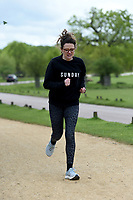 Ellie Gibson Celebrate You Training Session with Tim Weeks in Richmond Park, Surrey - preparing runners for The Vitality London 10,000, which will take place on Monday 27th May 2019. Friday 26 April 2019<br /> <br /> Photo: Kate Green for Vitality London 10,000<br /> <br /> For further information: media@londonmarathonevents.co.uk