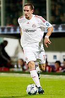 Fotball<br /> Italia<br /> Foto: Inside/Digitalsport<br /> NORWAY ONLY<br /> <br /> Franck Ribery (Bayern)<br /> <br /> 05.11.2008<br /> Champions League 2008/2009<br /> Fiorentina v Bayern München (1-1)