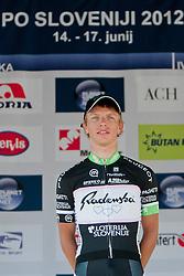 Klemen Stimulak during 2nd Stage (177,4 km) at 19th Tour de Slovenie 2012, on June 15, 2012, in Metlika, Slovenia. (Photo by Urban Urbanc / Sportida.com)