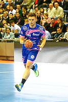 Nemanja Mladenovic - 01.04.2015 - Toulouse / Cesson Rennes - 19eme journee de Division 1<br />Photo : Manuel Blondeau / Icon Sport