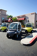 UNITED STATES-SUN CITY- Sun City, a retirement community in Arizona. Golf cars for sale. PHOTO: GERRIT DE HEUS .VERENIGDE STATEN-SUN CITY-  Sun City. Golfkarretjes te koop. PHOTO GERRIT DE HEUS