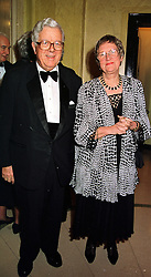 LORD & LADY HOWE, he is the former Conservative government minister,  at a dinner in London on 29th February 2000.OBS 24