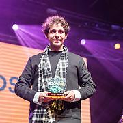 NLD/Amsterdam/20190208- 100% NL Awards  2019, Nielson wint de award beste album van het jaar