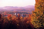 Fall colors, Brandon, Vermont