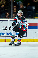 KELOWNA, BC - JANUARY 4: Liam Kindree #26 of the Kelowna Rockets skates against the Vancouver Giants at Prospera Place on January 4, 2020 in Kelowna, Canada. (Photo by Marissa Baecker/Shoot the Breeze)