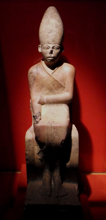 Khasekhemwy (d. 2686 BC; sometimes spelled Khasekhemui) was the fifth and final king of the Second dynasty of Egypt. Little is known of Khasekhemwy, other than that he led several significant military campaigns and built several monuments, still extant, mentioning war against the Northerners. His name means 'The Two Powerful Ones Appear.'