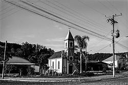 Brazsile - Bento Gonçalves è un comune del Brasile nello Stato del Rio Grande do Sul. Panoramica del centro.