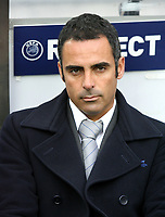 20090415: PORTO, PORTUGAL - FC Porto vs Manchester United: Champions League 2008/2009 – Quarter Finals – 2nd leg. In picture: Jose Gomes (Porto assistant coach). PHOTO: Manuel Azevedo/CITYFILES