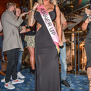 The Cannon Run bikini girls winners Jade Hobden(3rd) at the Driving holiday experience hosts yacht party at The Sunborn Yacht, Royal Victoria Dock on 31 May 2019, London, UK.