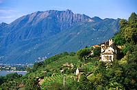 Lake Maggiore, Ticino, Switzerland