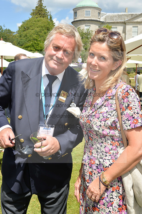 The MARQUESS & MARCHIONESS OF BLANDFORD at the Cartier hosted Style et Lux at The Goodwood Festival of Speed at Goodwood House, West Sussex on 29th June 2014.