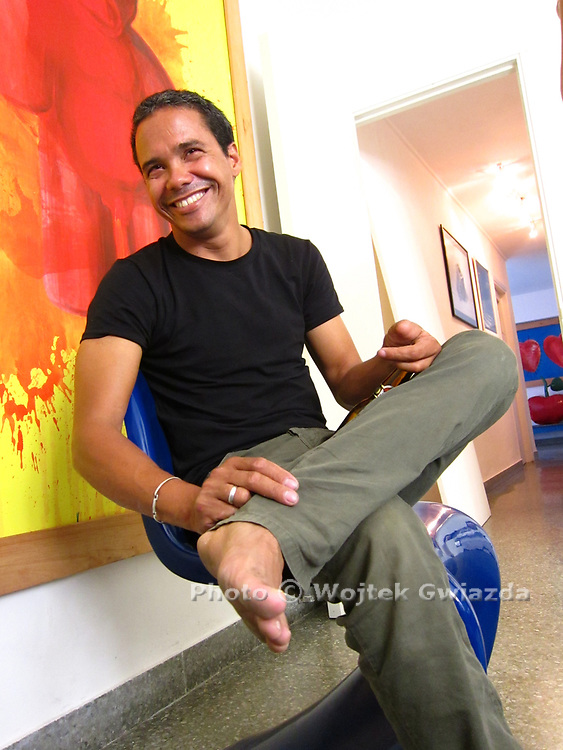 Havana visual artist Jose Emilio Fuentes Fonseca (Jeff)