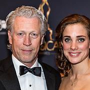 NLD/Utrecht/20170112 - Musical Awards Gala 2017, Hajo bruins en partner Linde van den Heuvel