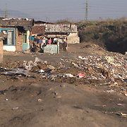 In the Roma ghetto many of the services provided to cities are not provided such as waste collection. The Roma in the Kjustendil ghetto use the area around the river crossing the ghetto for waste disposal.