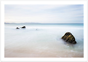 A long exposure capturing the peaceful mood of Great Oyster Bay on a calm morning when I had the whole beach to myself [Cressy Beach, Tasmania]<br /> <br /> Image ID: 207509. Order by email to orders@girtbyseaphotography.com quoting the image ID, preferred print size &amp; media. Current standard size prices are published on the Pricing page. Custom sizes also available.