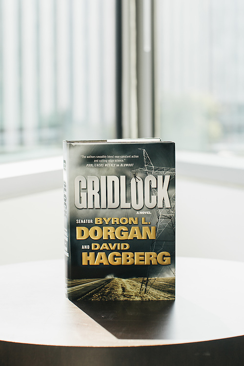 "Byron Dorgan, a former Democratic Senator from North Dakota, has recently written his fourth book. His latest is a thriller novel, titled ""Gridlock."""